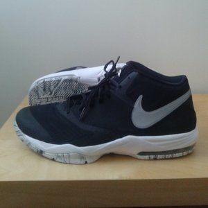 Nike Air Max (Black with black+white marble soles)